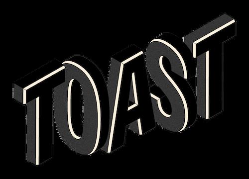 Toast Logo Black